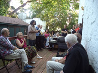 The 4th Shabdaguchha International Poetry Festival, Day Three, Casa Barkan, Merick, NY